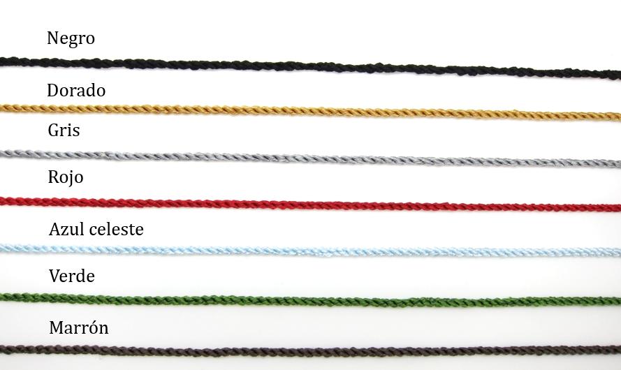 colores de trenza pulsera dencanto